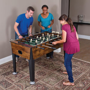 eastpoint-sports-newcastle-foosball-table-friends