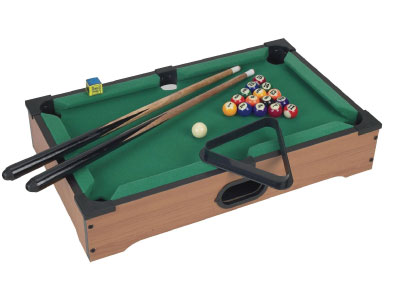 mini-table-top-pool-table-with-cues-triangle-and-chalk